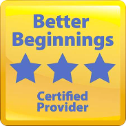 better beginnings certified provider