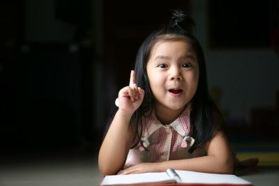 kid smiling